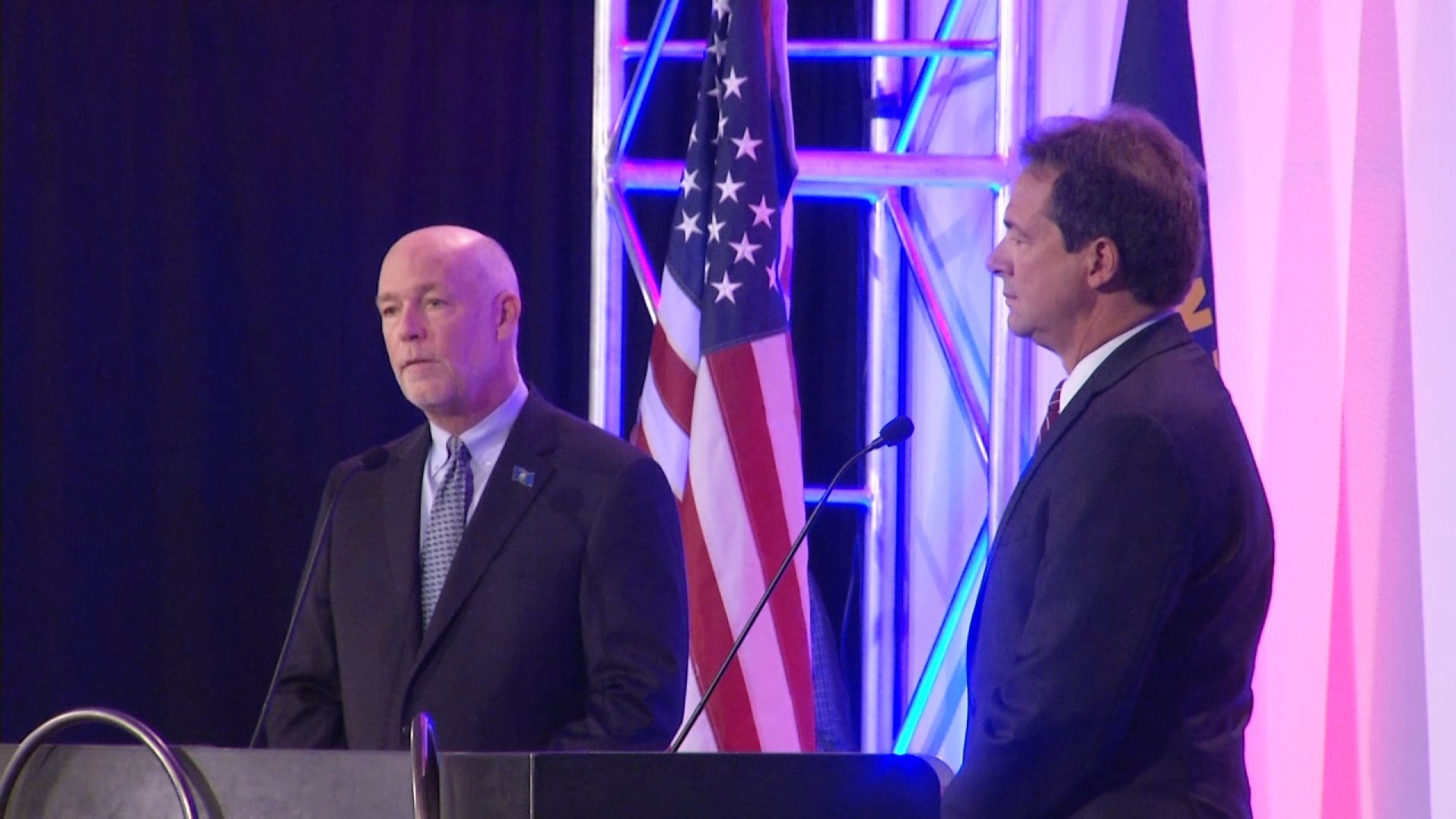 Greg Gianforte & Gov. Steve Bullock