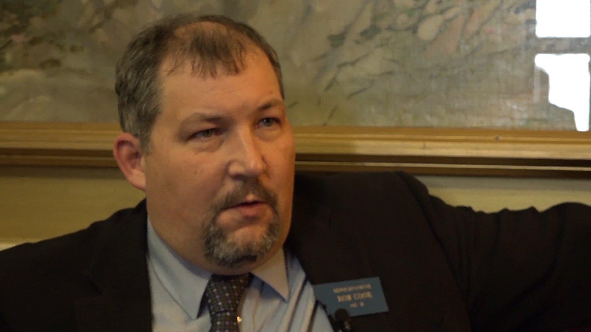 State Rep. Rob Cook, R-Conrad