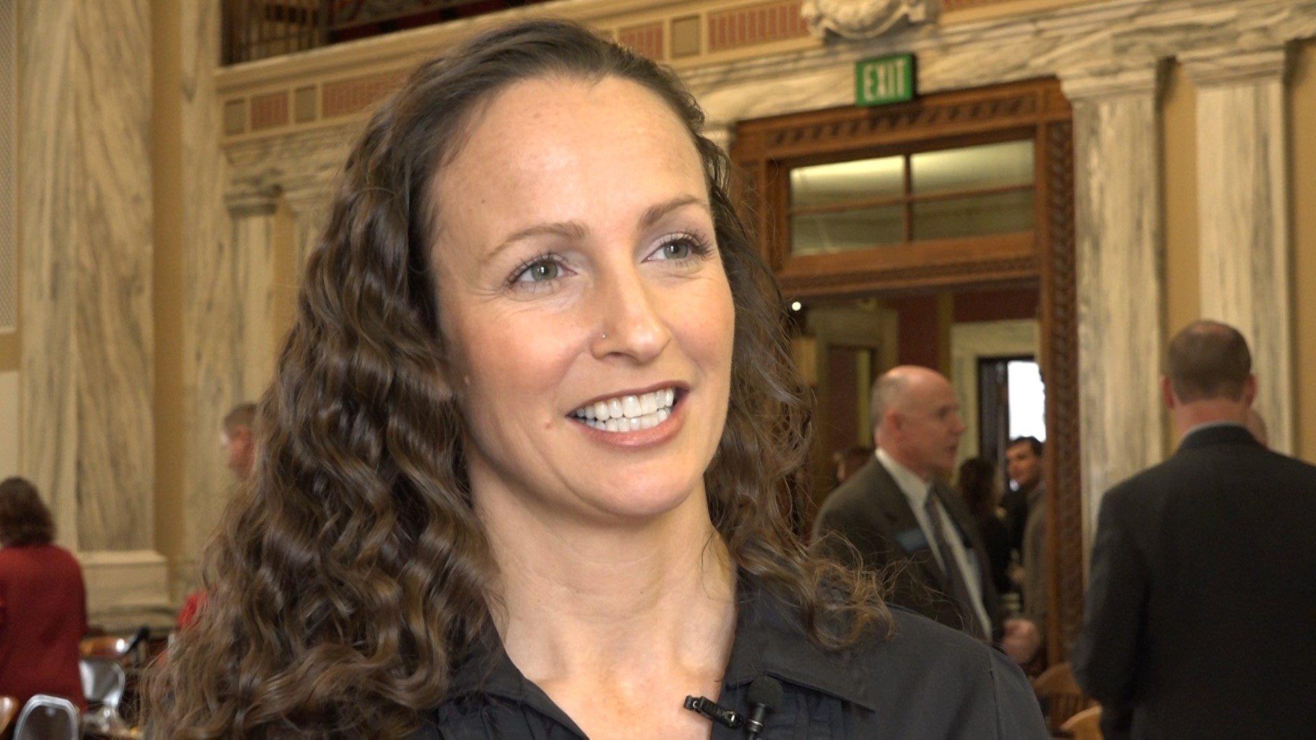 Rep. Amanda Curtis, D-Butte