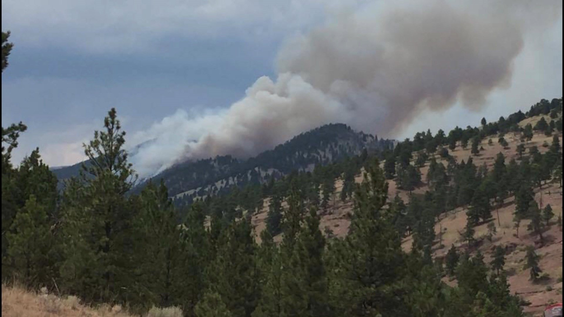 Forest fires continue to burn in MT -- and eat up firefighting fund