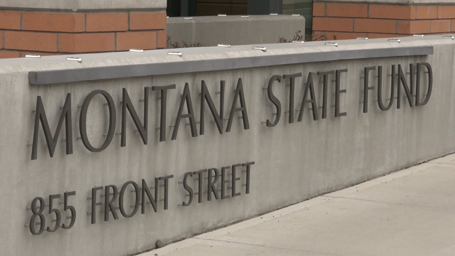 The Montana state work-comp fund's Helena HQ