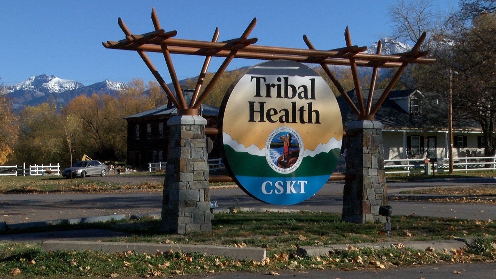 Confederated Salish and Kootenai Tribal Health clinic in St. Ignatius