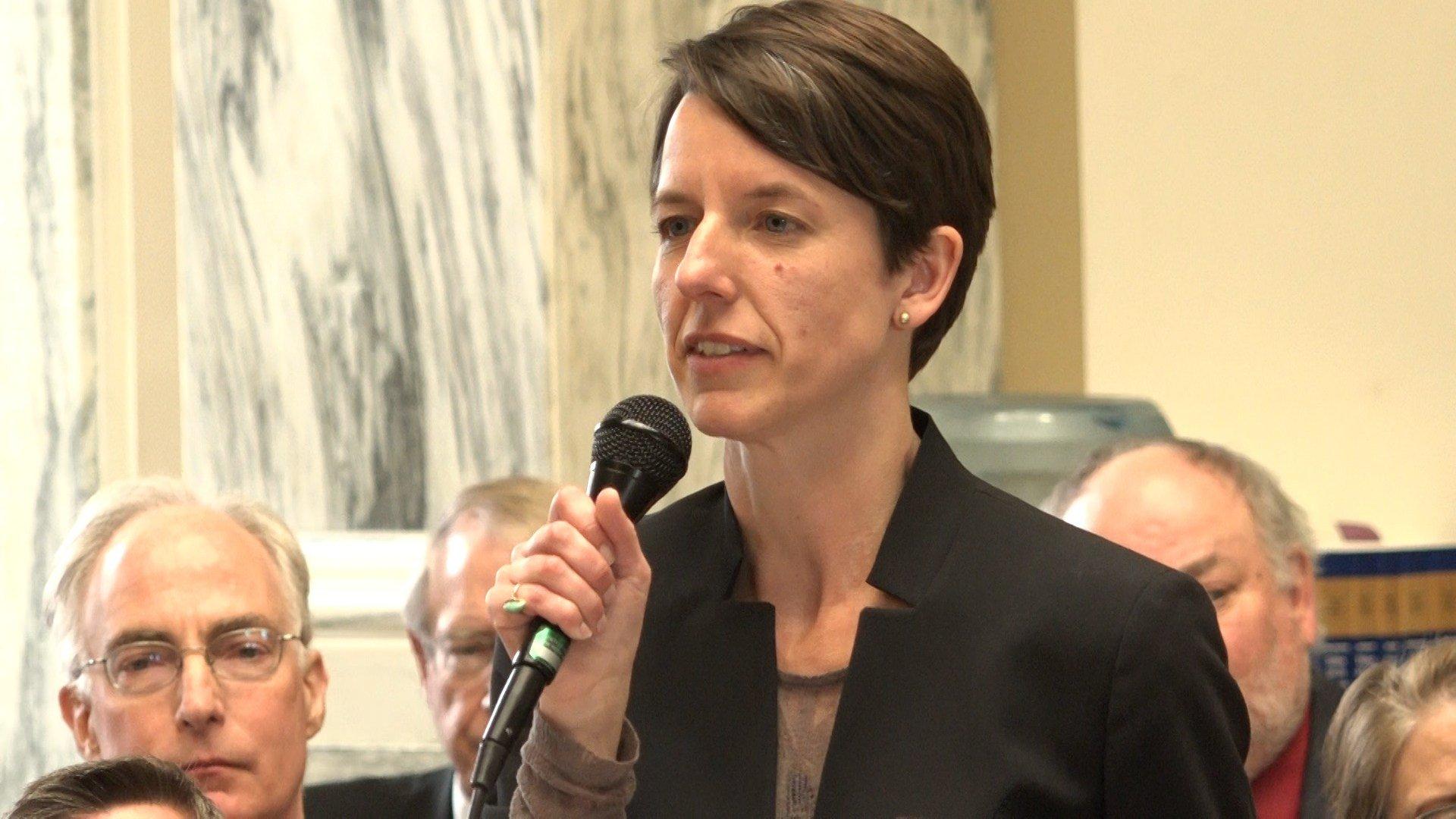 MT House Minority Leader Jenny Eck, D-Helena